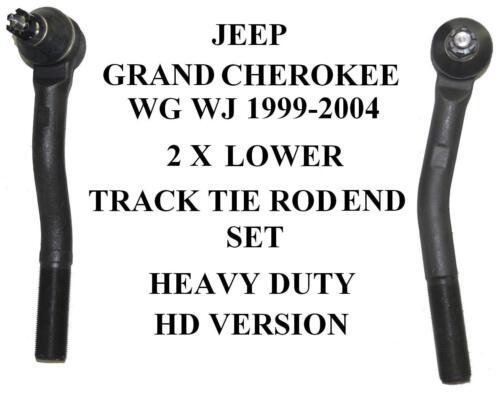 JEEP GRAND CHEROKEE WG WJ 99-2004 esterna TIE ROD Track Rod End inferiore Set