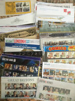 GB Royal Mail Presentation Packs 2010 - 2013 (Nos. 435 - 484) : Multiple Listing