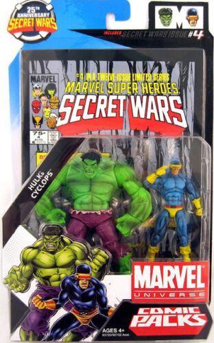 clássico Universo Marvel Secret Wars Boneco Série Em Quadrinhos-Hulk E Ciclope