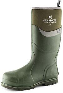 con da misure Bbz6000gr 13 Stivali pioggia impermeabile gomma 5 Buckler Wellington in sicurezza tqxOFx4na