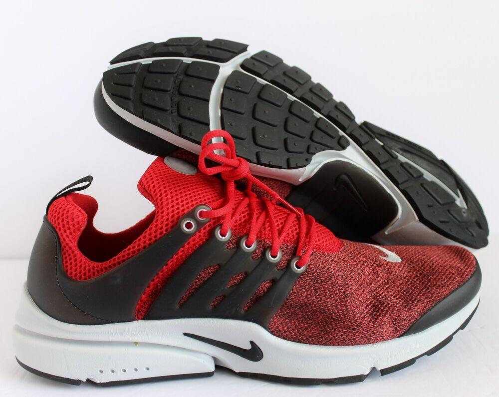 NIKE AIR PRESTO ESSENTIAL UNIVERSITY RED-Noir Homme  Chaussures de sport sport de pour hommes et femmes b8ae47