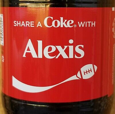 Fall 2019 Share A Coke With Alexis 20 Oz Coca Cola Collectible Bottle