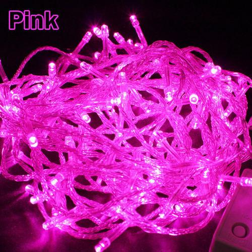 10M 100 LED String Lichterkette Weihnachtsbeleuchtung Lichter kette Party Dekor