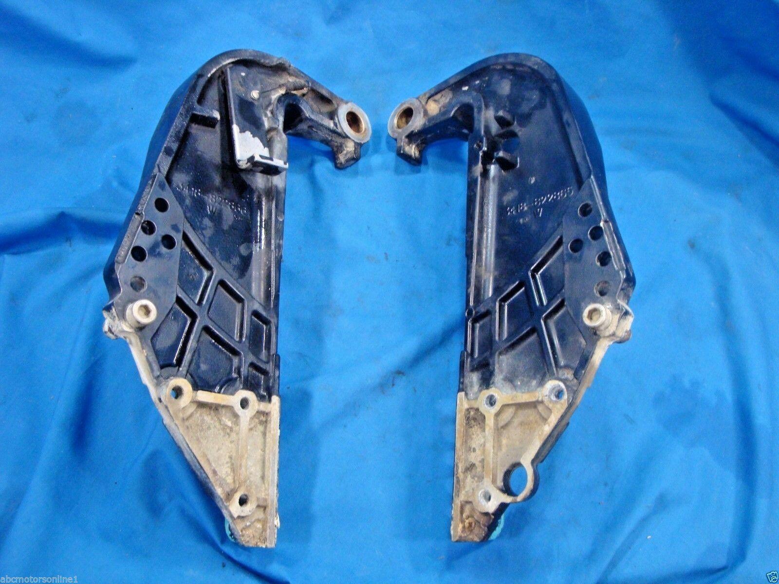 1990-2006 Mercury 40 hp 4 Stroke Spiegel Gestell Set : Port & Stbd Pn : Set 822866 b87299