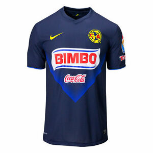 c8e3d1ab64c Image is loading NIKE-CLUB-AMERICA-AWAY-JERSEY-2013-14