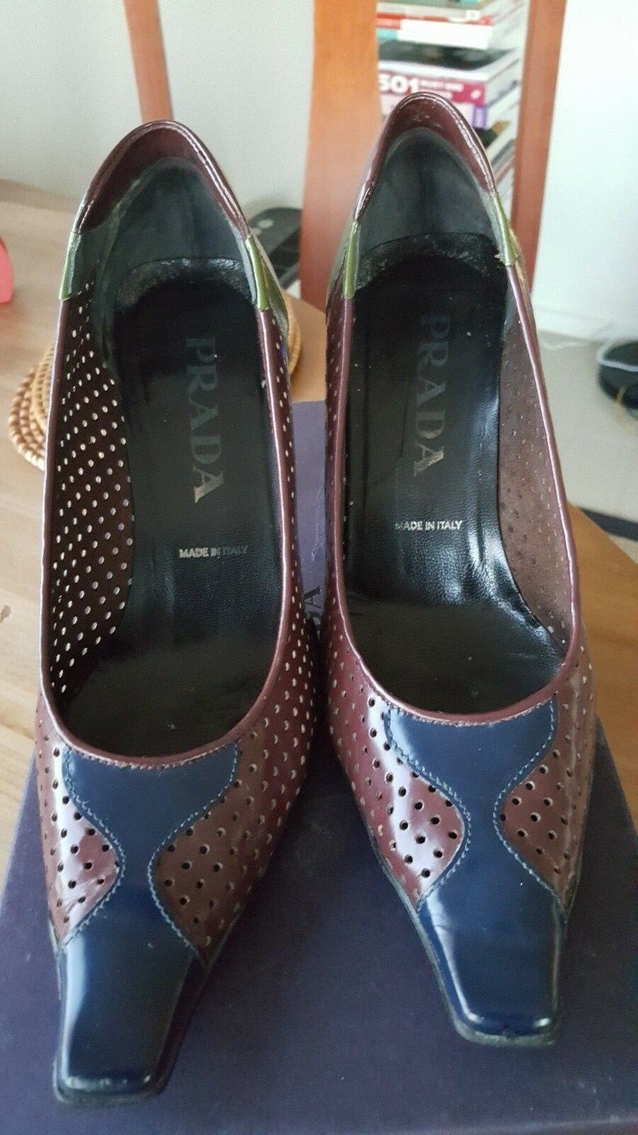 c1f141090 calzature doona in shoes size 36.5 pelle Prada nuftmg3135-Heels ...