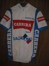 CARRERA VAGABOND MAGLIA JERSEY MAILLOT CYCLING CICLISMO 1991 CHIAPPUCCI