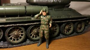 assembled and painted 1//16 Figure of Russian Soldier motionless