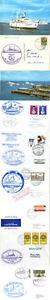 SûR Mme Wilhelmshaven Allemand Navire à Passagers En Cache Couvre X Carte 5 A Et Deux Cartes Postales-afficher Le Titre D'origine Produits De Qualité Selon La Qualité