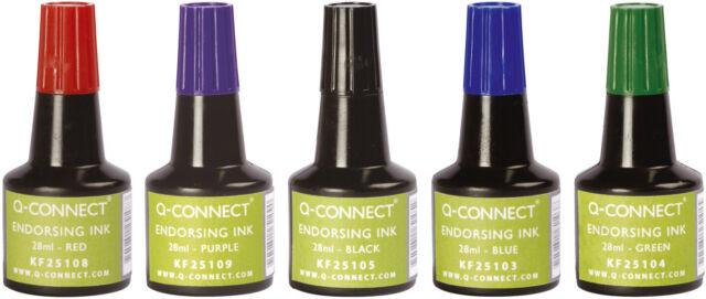 Stempelfarbe Sello Color Tinta para Rellenar Almohadillas sin Aceite 28ml