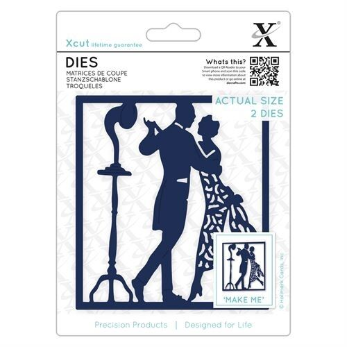 2 PIECE DIE SET NEW JUNE 2017 DOCRAFTS XCUT DIES 1920/'s DANCERS