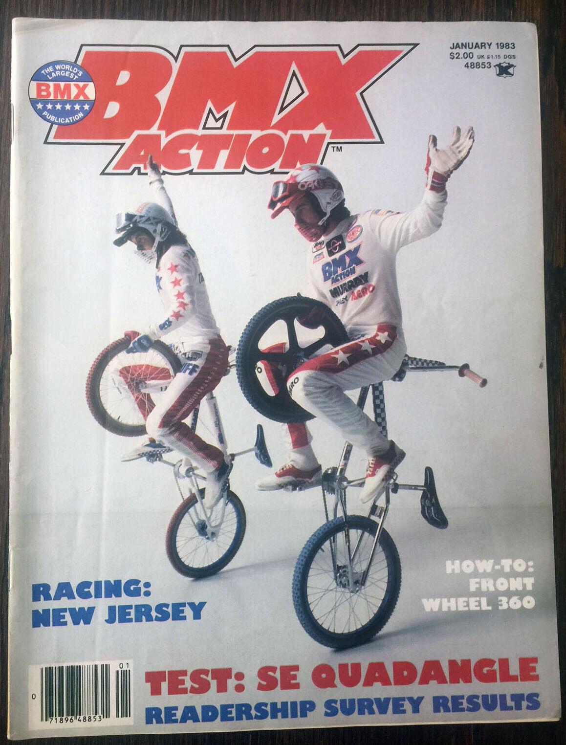 BMX Action (BMXA) - January 1983  .  save up to 70% discount