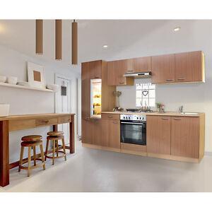 respekta Economy Küche Einbau Küchenzeile Einbauküche Küchenblock ...