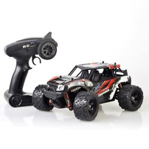 Pulselabz 1:18 Car High-Speed 35km/h 4WD Remote Control RC 2.4Ghz Offroad RC Truggy Monster Truck Buggy All Terrain Red Canada Preview