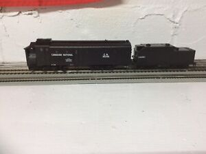 Ho-scale-Athearn-Ready-to-roll-Canadian-National-rotary-snow-plow-car