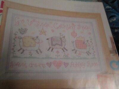 """""""dulces Sueños 'sampler Cross Stitch Chart (sólo) EscalofríOs Y Dolores"""