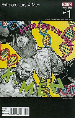 EXTRAORDINARY X-MEN #1 GREENE HIP HOP VARIANT NEAR MINT MARVEL COMICS 11/4/15