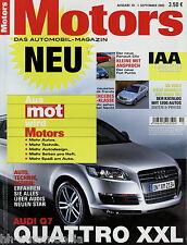 Motors 10 05 2005 Audi Q7 Fiat Punto Ford Focus ST Jaguar XK Miura Jetta RX 400h