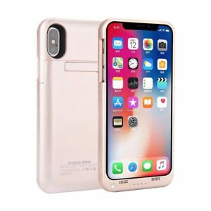 sale retailer 6ef6f e9fb0 Details about For iPhone X Apple 10 Power Bank Portable Battery Backup Pack  Charger Case Cover
