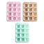 DAISO JAPAN Bear Silicone Mold Shiny 12-Cavity Kawaii Kuma Cub Puffy Face Emotes