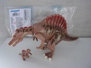 Playmobil Ergänzungen & Zubehör - 6267 Spinosaurus mit Baby (Dinos) - Neu