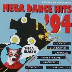 Mega-Dance-Hits-039-94-zyx55016-Mo-Do-2-Unlimited-Cappella-Whigfield-CD