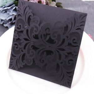 5-100pcs-Vintage-Paper-Laser-Cut-Invitation-Card-Birthday-Wedding-Greeting-Cards