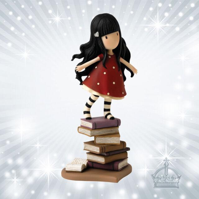 New Heights Gorjuss Mädchen Figur Santoro`s Enesco Girl Figurine Bücher  A26482