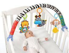 Newbron Baby Stroller Pram Cot Crib Clip Infant Fun Hanging Toy +Rattle Teether