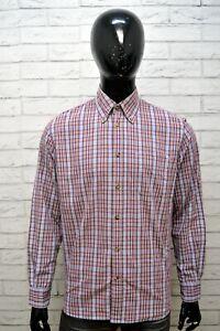 INVICTA-Camicia-a-Quadri-Uomo-Taglia-Size-L-Maglia-Camicetta-Shirt-Men-Casual