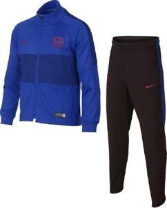 Nike-FC-Barcelona-Trainingsanzug-Groesse-122-Saison-19-20-UVP-war-79-95-Euro
