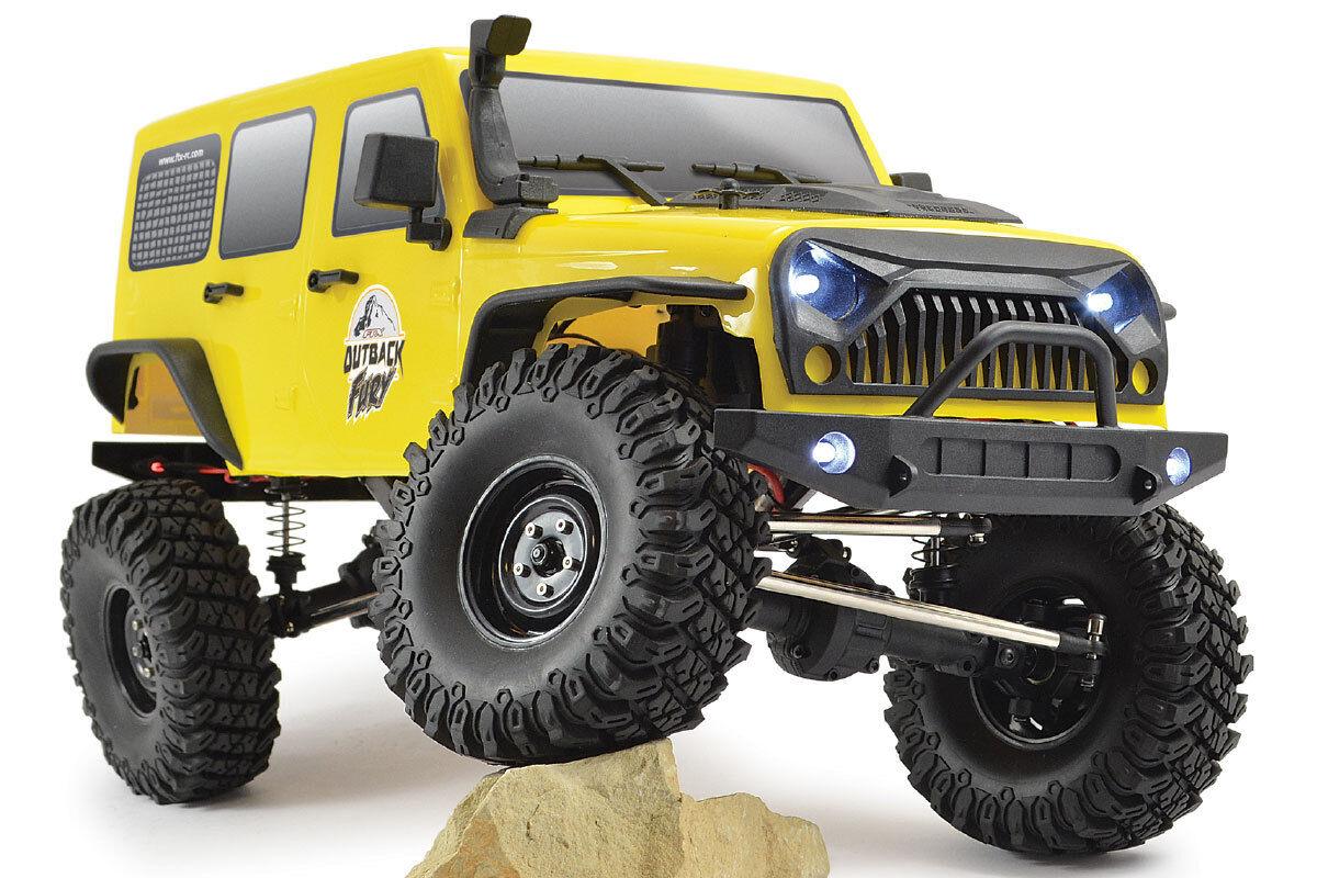 Ftx Outback Furia (Jeep Wrangler Estilo) 1 10 4x4 Rock Crawler RC coche listo para correr