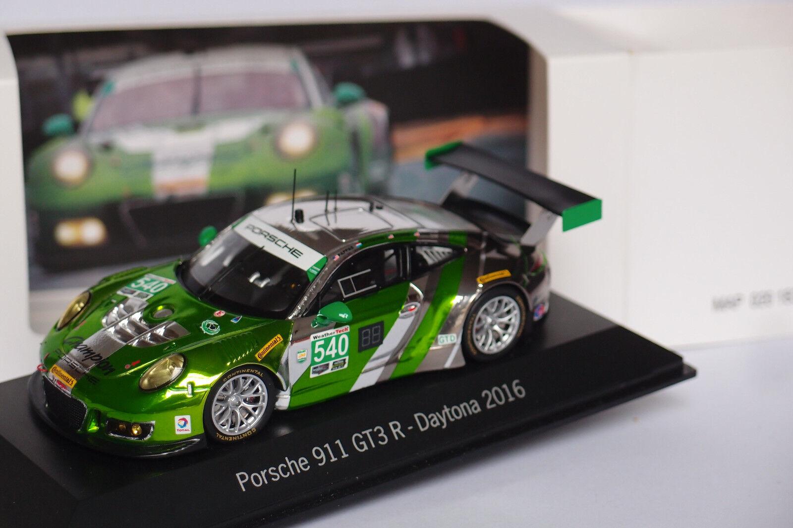 SPARK PORSCHE 911 GT3 R  540 540 540 DAYTONA 2016 1:43 6e0ed5