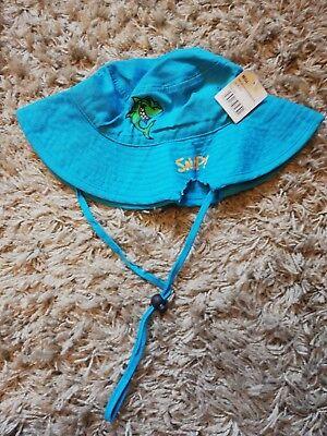 Dinamico Per Bambini Ragazzi Estate Bush Cappelli Con Squalo Kids Cappello Da Sole Taglia 4 - 8-mostra Il Titolo Originale