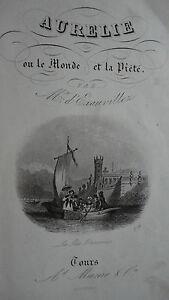 D-039-EXAUVILLEZ-Aurelie-ou-Le-monde-et-la-piete-1845