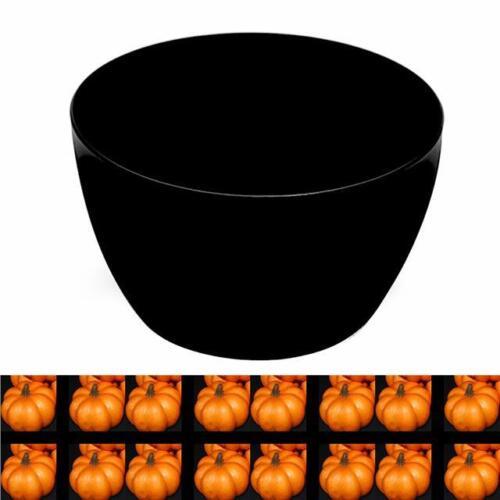 Halloween Party Prop Fruit Bowl Algarve Black Plastic Bowl 23cm