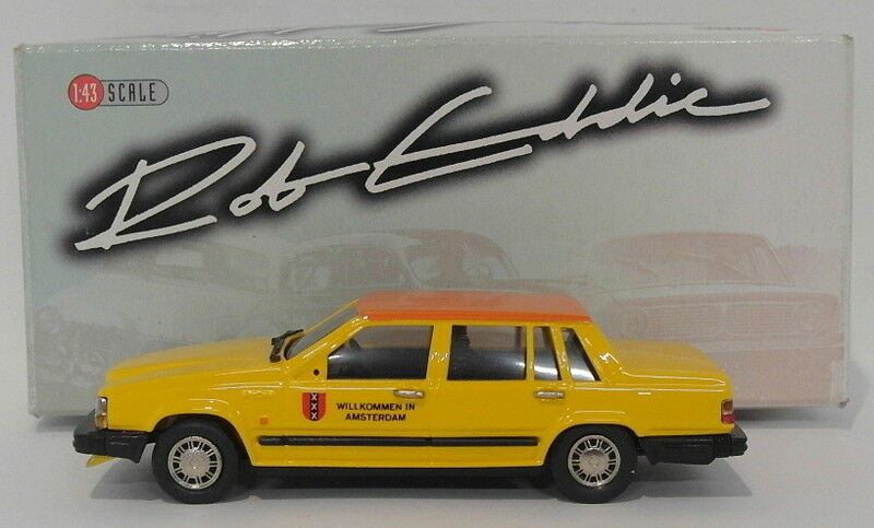 Rob Eddie Modells 1 43 Scale RE32X 1987 Volvo 760GL Taxi - Ltd. Ausgabe 1 Of 250