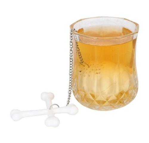 Colino per il Tè Teschio silicio infus regalo divertente Riutilizzabile ECO divertenti novità Gotico
