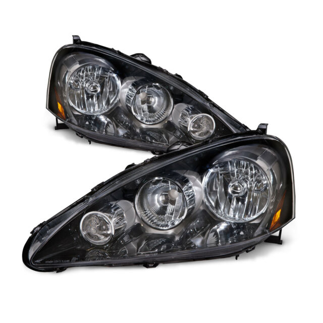 05-06 Acura RSX Headlights Headlamps Pair Set Left Right