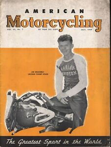 1949-July-American-Motorcycling-Vintage-Motorcycle-Magazine-Back-Issue