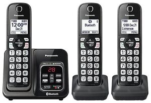 Panasonic-KX-TG833SK-Bluetooth-Cordless-Phone-with-Voice-Assist-3-Handsets