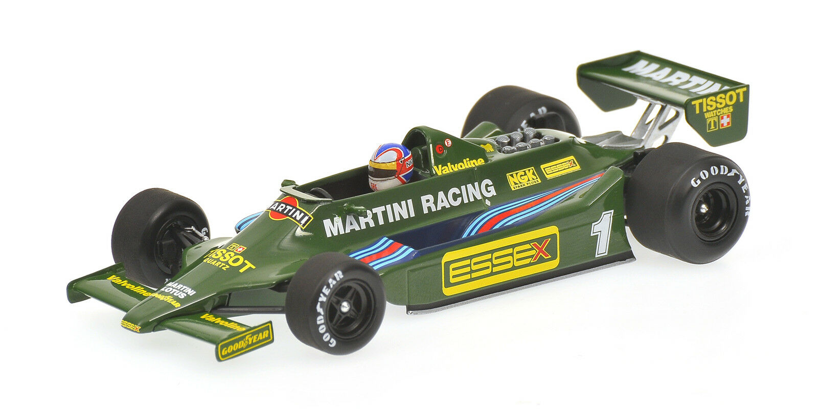 Lotus Ford 79 Martini N. Mansell 1979 1 43 MODEL 400790099 MINICHAMPS
