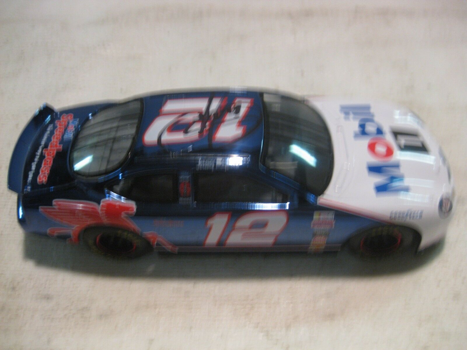 Nascar Jeremy Mayfield Mobil 1 Ford Taurus 124 Scale Diecast RC 1998   dc663