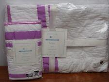 NWT Pottery Barn Kids/Baby Harper Nursery Bedding Quilt & Sham ~Lilac~