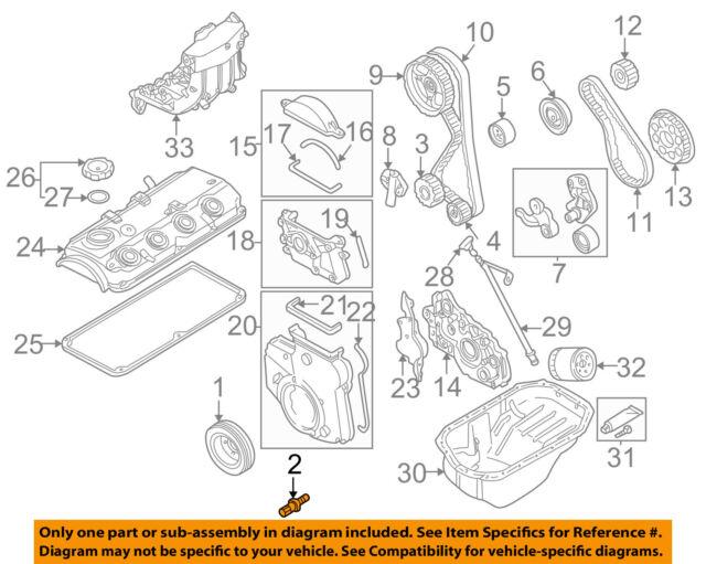 Genuine Mitsubishi Montero Sport Crankshaft Pulley Bolt MD376614 for sale  online   eBay   97 Montero Sport Engine Diagram      eBay