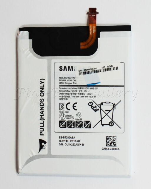 OEM SAMSUNG GALAXY TAB A SM-T280 REPLACEMENT BATTERY EB-BT280ABA 4000mAh 3.8V