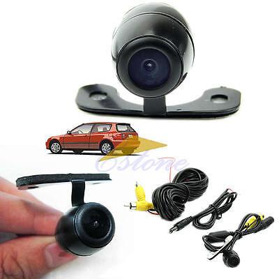 CMOS Mini Color 12V 170°Reverse Backup Car Rear View Camera Night Vision