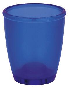 Image Is Loading Spirella Toronto Navy Blue Toothbrush Mug Cup