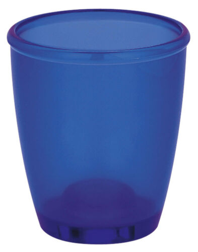 Spirella toronto Navy Bleu zahnbecher gobelet brosses à dents support produit de marque