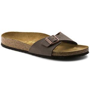 ORIGINALI-BIRKENSTOCK-MADRID-MOCCA-PIANTA-STRETTA-ciabatte-sandali-scarpe